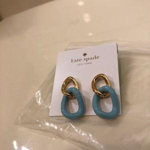 Kate Spade Two-Tone Dangling Earring